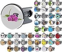 Wash Basin Plug | Wide choice of beautiful basin plugs | Easy to insert into the wash basin (Wellness)