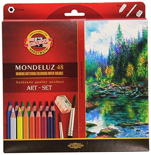 Best price KOH- -NOOR 3713 Mondeluz Aquarellstifte Set, farblich sortiert ( Stück)