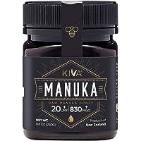 Kiva Raw Manuka Honey, Certified UMF 20+ (MGO 830+) - New Zealand (250 gr)