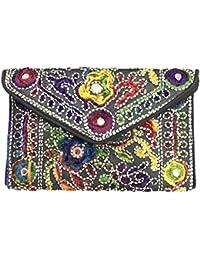 Shubhangi Women's STYLISH Sling Bag (Jaipuri Embroidered Handicraft Traditional Sling Bags,GIRLS BAG,GUJRATI EMBROIDERY...