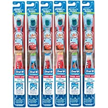 Oral-B Pro-Health Stages Disney Cars - Cepillo de dientes manual para niños