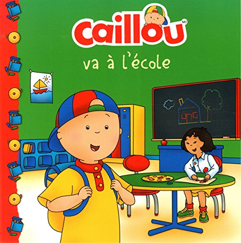 Caillou va a l'ecole (French of Caillou Goes to School) (Chateau de cartes)