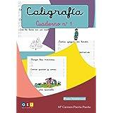 Caligrafía Montessori Cuaderno 1: Primeros Trazos Iniciación A La escritura | Editorial Geu: Caligrafía Educación Infantil (M