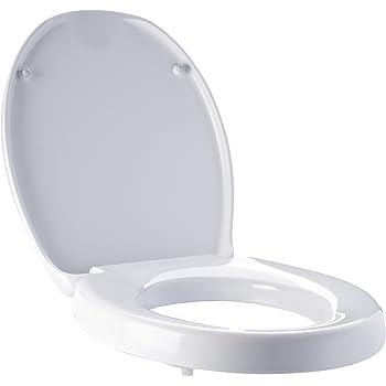 Ridder A0070700 WC-Erhöhung, Toilettensitzerhöhung, Premium mit Soft-Close