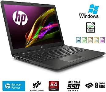"Hp 255 G7 Notebook hp Display da 15.6"" Fino A 2.60GHz,Ram 8Gb Ddr4 SSd M.2 256Gb,Radeon R3,Pc portatile Hp,Hdmi,DVD,Cd RW,Wi fi,Bluetooth,Windows 10 professional"
