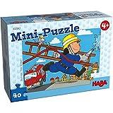 Haba 302542 Mini-Puzzle Feuerwehr