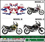 Kit adesivi decal stikers HONDA XRV AFRICA TWIN RD 07 750 1998 (ability to customize the colors)