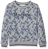 Pepe Jeans PG580625, Sweat-Shirt Fille, Gris (Grey Marl), 12 Ans (Taille Fabricant:12)