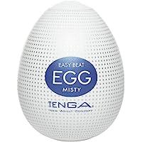 TENGA EGG Misty, masturbateur pour homme jetable, une seule unité, discret, matière ferme