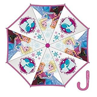 Arditex–008864 – Regenschirm, manuell zu öffnen – aus Vinyl, Lizenzprodukt Frozen – Die Eiskönigin – 8 Kiele – 46cm