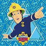 Palleon 3er Set Magisches Baumwoll Handtuch Frozen, Cars und Feuerwehrmann Sam Feuerwehr
