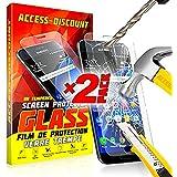 ** PACK INCASSABLE ** 2 FILM PROTECTION Ecran en VERRE Trempé SAMSUNG GALAXY A5 2016 filtre protecteur d'écran INVISIBLE & INRAYABLE vitre + STYLET BLANC pour Smartphone A 5 6 SM-A510F A5 6 or duos 4G