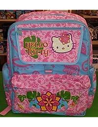 MOCHILA INDIAN PINK KITTY RS/AZUL 33x40x15 cm