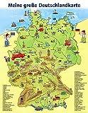 Meine grosse Deutschlandkarte: LernSpielZwerge-Lernposter. Verkaufseinheit