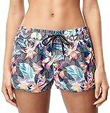 O'Neill Damen Print m und m Boardshorts Bademode Badeshorts, Black Graphic Small W/Pink, XL