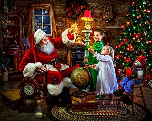 Magie du Père Noël Jigsaw Puzzle 1000 Pièces