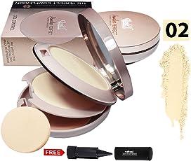 Glam21 Perfect Complexion Comapat Powder Oil Control CP8009-02 With Free Adbeni Kajal 125/-