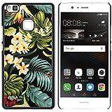 Graphic4You Flor hawaiana Hawái Carcasa Funda Rigida para Huawei P9 Lite