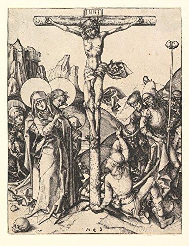 Das Museum Outlet–Kruzifix, gespannte Leinwand Galerie verpackt. 50,8x 71,1cm