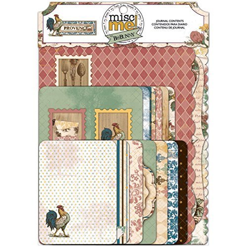 BoBunny 63-Piece Misc Me Primrose Note Paper by Bo Bunny