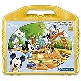 Clementoni 41118.4 - Würfelpuzzle - 12er Würfel Disney Babies