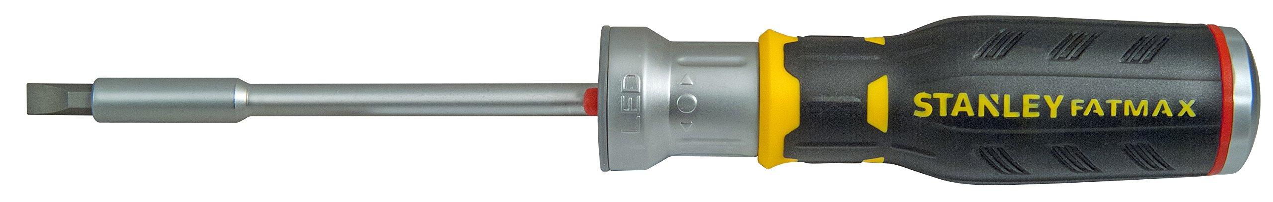 611fwQxEQpL - STANLEY FMHT0-62689 - Multipuntas FatMax de carraca con LED. 12 puntas