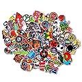 StillCool® 50pcs shifashionshop Aufkleber für Skateboard Snowboard-Weinlese-Vinylaufkleber-Graffiti Laptop Gepäck Auto-Fahrrad-Decals mischen Lot Art- und Weisekühler