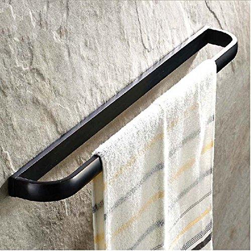 GRENSS wholdsale und einzelhandelsbereich Öl eingerieben Bronze Badezimmer Handtuch Bar Single Halter Wand montiert Handtuch Rack Bar (öl Eingerieben Bronze 30 Handtuchhalter)
