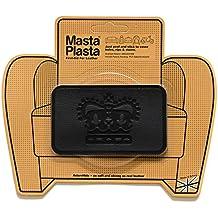 Reparación Cuero, Polipiel y Skai - Parches Adhesivos - MastaPlasta - Rectangulo Mediano Corona (100x60mm) (Negro)