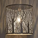 Industaan Home Decor Vintage Forest Pattern Medium Size Hanging Light | Pendant Light | Ceiling Light | 26 X 26 X 26