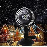 Y-YT LED Projektor Lichter Wasserdichte Outdoor-Festival Zierrasen Schneeflocke Plug-in-Projektion, Landschaft Lamp