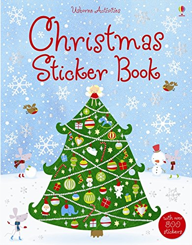 Christmas Sticker Book por Fiona Watt
