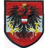 Sammler österr Landeswappen Steiermark Aufnäher Patch Bundesland Auto