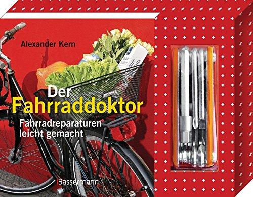 Der Fahrraddoktor-Set - Mit 8-teiligem Multitool: Fahrradreparaturen leicht gemacht