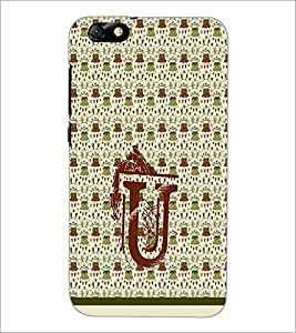 PrintDhaba GRANDbet U D-1299 Back Case Cover for HUAWEI HONOR 4X (Multi-Coloured)