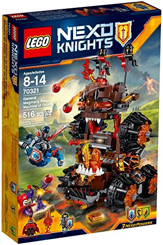 LEGO Nexo Knights - Máquina asedio infernal general