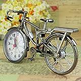 #9: Sellify Newest Fashion Bike Shape Alarm Clock For Children Kids Bicycle Alarm Clock Home Art Decoration