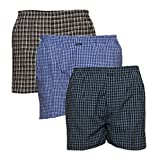 #7: SYDA Men's Boxer (Pack of 3) Assorted Mixed Variety