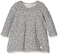 3Pommes Baby Girls 0-24m Sweet Lovely Dress, Grey (Mouse Grey), 6-9 Months