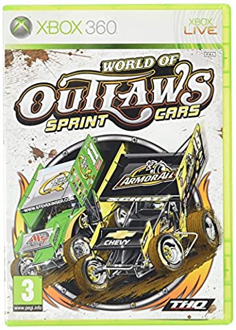 World Of Outlaws Sprint Cars Game XBOX 360 [import