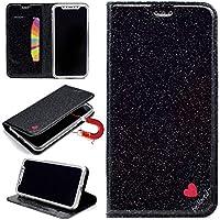 Sycode Glitzer Schutzhülle für iPhone X,Flip Hülle für iPhone X,Luxus Noble Bling Glitter {Be Loved} Herz Entwurf... preisvergleich bei billige-tabletten.eu