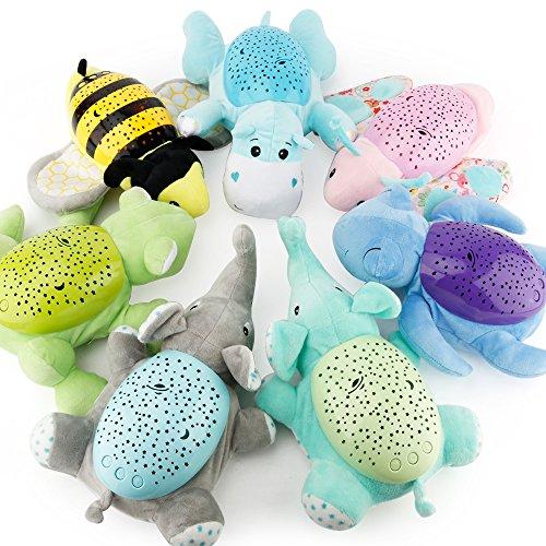 Animal Peluche lindo elefante juguete bebé bebé niños Slumber Buddies noche luz...
