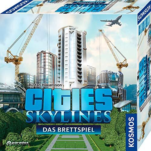 KOSMOS 691462 - Cities: Skylines, Das Brettspiel zum PC-Spiel, Für 1 bis 4 Spieler ab 10 Jahren