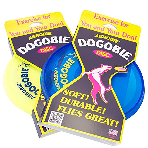 Aerobie A28 Dogobie Dog Frisbee, Colori Assortiti