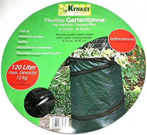 Sac PopUp de jardin poubelle déchets Rasensack Sac 120 L