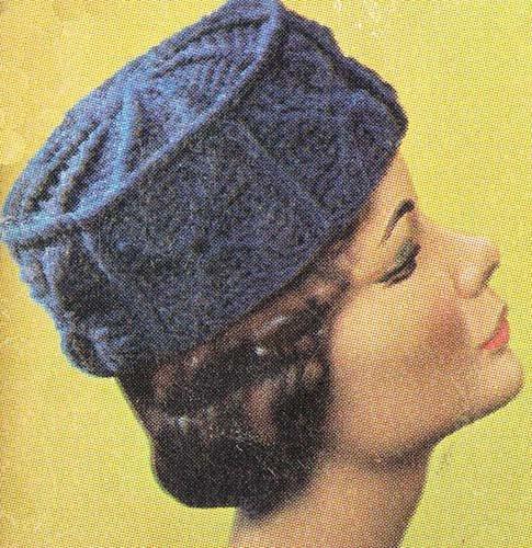 Crochet Motif Pillbox Crochet Hat Cap Pattern EBook Download (English Edition) Granny Cap