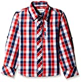 Blue Giraffe Boys' Shirt (AW15/NA/22_Red...