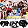 PBPBOX Photo Booth Geburtstagsparty-Set 41 teiliges