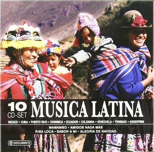 Musica Latina Box set, Import edition by Javier Solis, Ada Mattey, Abilio Berm¨²dez, Carlos Silva Parja, Mikis Theodoraki (2007) Audio CD (Musica Latina-cd)