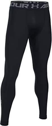 Under Armour Men's Compression Tights UA HeatGear Armour 2.0, Comfortable Gym Leggings for Men, Lightweight Thermal Underwear with Tight Fit Design